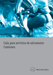 Guia para servicios de salvamento. Camiones.