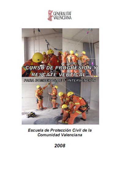 curso progresion y rescate vertical bomberos