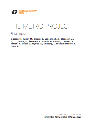 final report metro project
