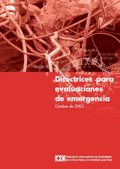 directrices para evaluaciones de emergencia