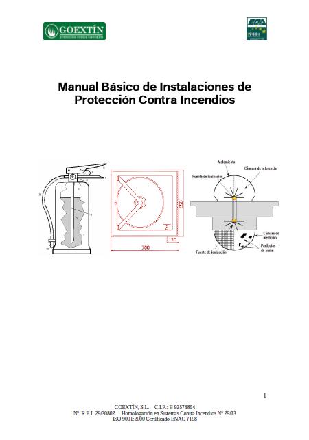 manual basico de instalaciones de proteccion contra incendios