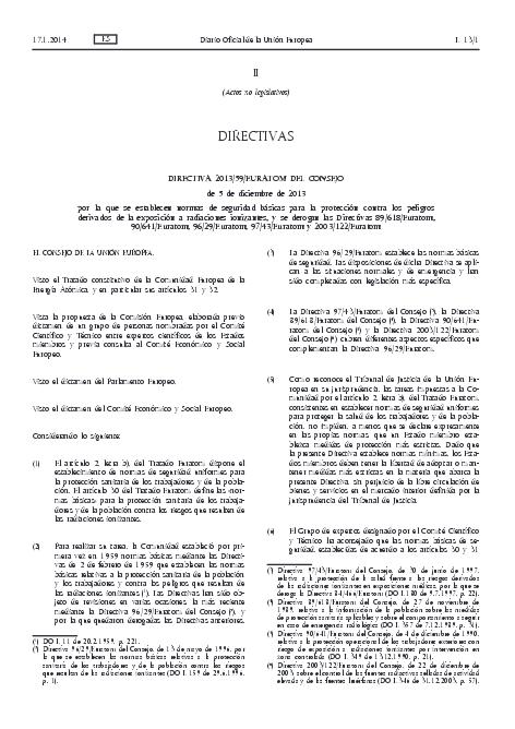 directiva nuclear