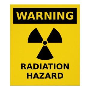 peligro radiacion